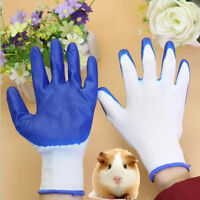 PVC Animal Handling Gloves Small Pet Hamster Reptile Bites Scratch Protector