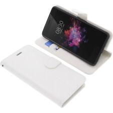 Custodia Per Tp-Link Neffos X1 Max Book-Style Protettiva Cellulare Libro Bianco