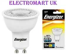 1 X ENERGIZER GU10 LED 5W EQUIVALENT TO 50W LIGHT BULB COOL WHITE DAYLIGHT 6500K