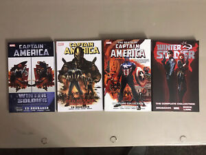 Captain America Brubaker Complete Collection Lot
