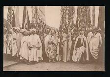 Tunisia TUNIS Chefs Indigenes Native Chiefs c1900/20s? PPC
