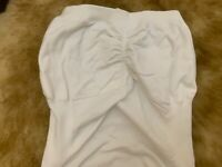 Tally Weijl white Camisole Top sleepwear nightwear size ONE SIZE