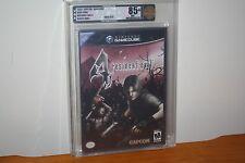 Resident Evil 4 (Nintendo Gamecube) NEW SEALED BLACK LABEL, MINT GOLD VGA U85+!