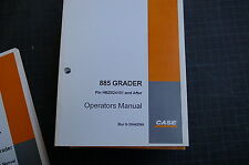 CUSTODIA 855 Motor Grader Owner Operator Maintenance Manual book guide road 2003