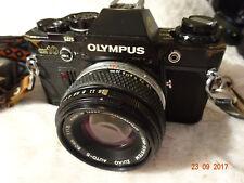 Olympus OM10 Black Olympus Om-system zuiko Auto S 50mm f1.8