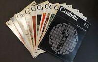 CASABELLA 1978 COMPLETA! 10 numeri 432 433 434 435 436 437 438 439 440/441 442