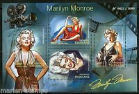 TOGO  2015 MARILYN MONROE SHEET MINT NH