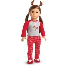 American Girl Doll Festive Reindeer PJ'S for Dolls - New