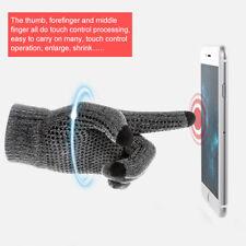 Touch Screen Gloves Stretch Knit Mittens Winter Warm Gloves Unisex Outdoor Sport