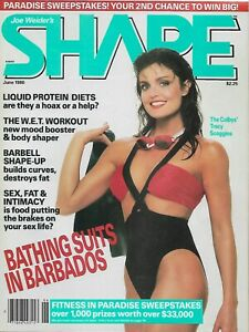 Shape, June 1986 (Tracy Scoggins)