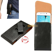 Etui Pochette POUCH Clip Ceinture Rotatif 360° Noir / HTC One M8 for Windows
