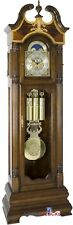 Hermle Castleton Walnut Tubular Grandfather Clock 45% Off Msrp 010800-031171T