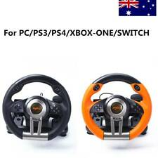 Driving Race Game Steering Wheel Brake Pedal for PC/PS3/PS4/XBOX-ONE/SWITCH AU
