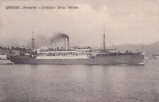 """NAVI - Lloyd Italiano - Piroscafo """"Cordova"""" 1911"""