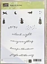 Stampin' Up! Jingle All The Way Stamp Set BRAND NEW Christmas (: