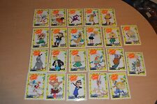 Lot of 22 Nicktoons Nickelodeon Capri Sun Trading Cards Decals Rugrats Ren Doug