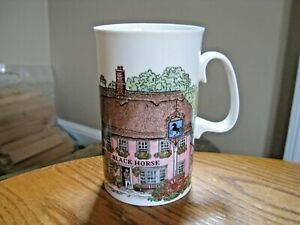 Dunoon England Mug The Village Inn's by Sue Scullard The Black Horse