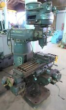 Cincinnati Toolmaster Vertical Mill 1d 10 X 42 Pf Tbl V Speed Low Price