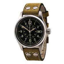 Hamilton H70595593 Men's Khaki Brown Strap Automatic Watch