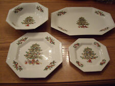 "FAIRFIELD FINE CHINA~CHRISTMAS CHINA~""PEACE ON EARTH""~SERVICE FOR 8 + COMPLETERS"