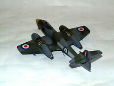 Built 1:48 Gloster Meteor FR.9 Fighter Aircraft Royal Air Force Model Airfix Kit