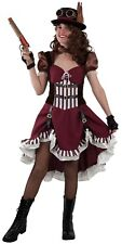 Déguisement Femme Steampunk Luxe M 40 Costume Adulte Victorien