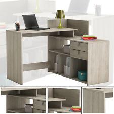 Eck-Schreibtisch #204 SHANNON EICHE Honig- Schreibtisch PC-Tisch Eckschreibtisch