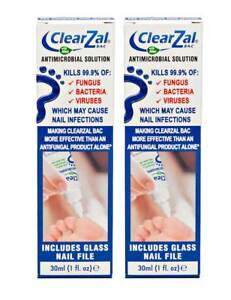 ClearZal BAC Antimicrobial Solution 30ml X 2 PACK