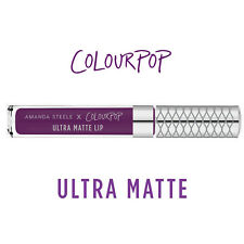 ColourPop Ultra Matte Liquid Lipstick - CHAPS by Amanda Steele - deep aubergine