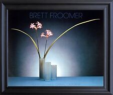 Nerine Lilies Flowers Floral Still Life Fine Wall Art Decor Black Framed Picture
