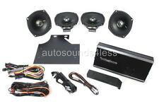 Rockford Fosgate R1-HD4-9813 4-Channel Harley Motorcycle Amplifier 4x Speakers