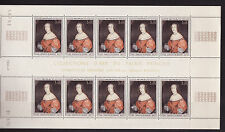 MONACO  tableau en feuille de 10   princesse  Charlotte    num: 846   **
