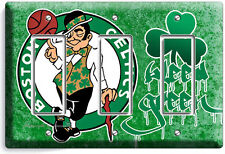 Boston Celtics Basketball Team Triple Gfi Light Switch Wall Plate Cover Man Cave