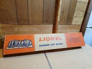 Rare Lionel No.974 Scenery Set R10