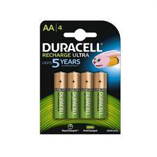 DURACELL Batterie recharge ultra stilo AA/4 pz, ricaricabili, 2500mAh/1,2V