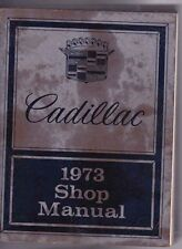 1973 CADILLAC RANGE US Factory Shop Manual