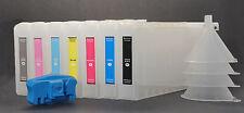 7X300 Refillable UltraChrom K3 Ink Cartridge for Epson 4000/7600/9600,FREE Reset