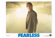 FEARLESS JEFF BRIDGES ON AIRPLANE ORIGINAL LOBBY CARD 11X14 NEAR MINT.