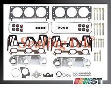 Fit 96-99 GM 3400 3.4L 207 V6 VIN E Engine Cylinder Head Gasket Set w/ Bolts Kit