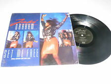 "JAKI GRAHAM - Set Me Free - 1986 UK 3-track 12"" vinyl single"