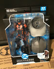 """McFarlane DC Suicide Squad  Bloodsport  7"""" Action Figure with Build-A King Shark"""