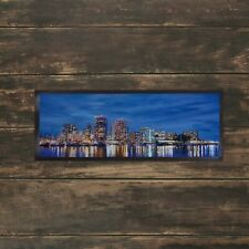 Blue Skyline Bar Runner Ideal For Any Occasion Party Pubs Clubs Shops