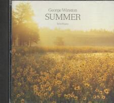 Music CD George Winston Summer Solo Piano