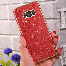 shockproof Slim Bling Glitter TPU Protective Case Cover For Samsung Galaxy S8 S7