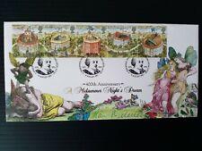More details for 1995 lim. ed. shakespeare's globe ann. fdc signed sir ian mckellen