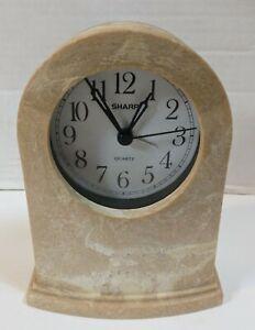 "6"" Sharp Quartz Battery Operated Table Clock Model No. SPCH201"
