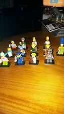 Lot of 13 Simpsons LEGO figures