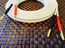 Nuevo 2 X 2,5 m (par) de Van Den Hul-Clearwater Parlante de audio cables rescindido