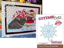 FANCY FLURRY SNOWFLAKE Die Cottage Cutz dies CCE-037 Holidays Christmas snow