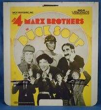 Rca Ced Videodisc! - Duck Soup with The Four Marx Brothers